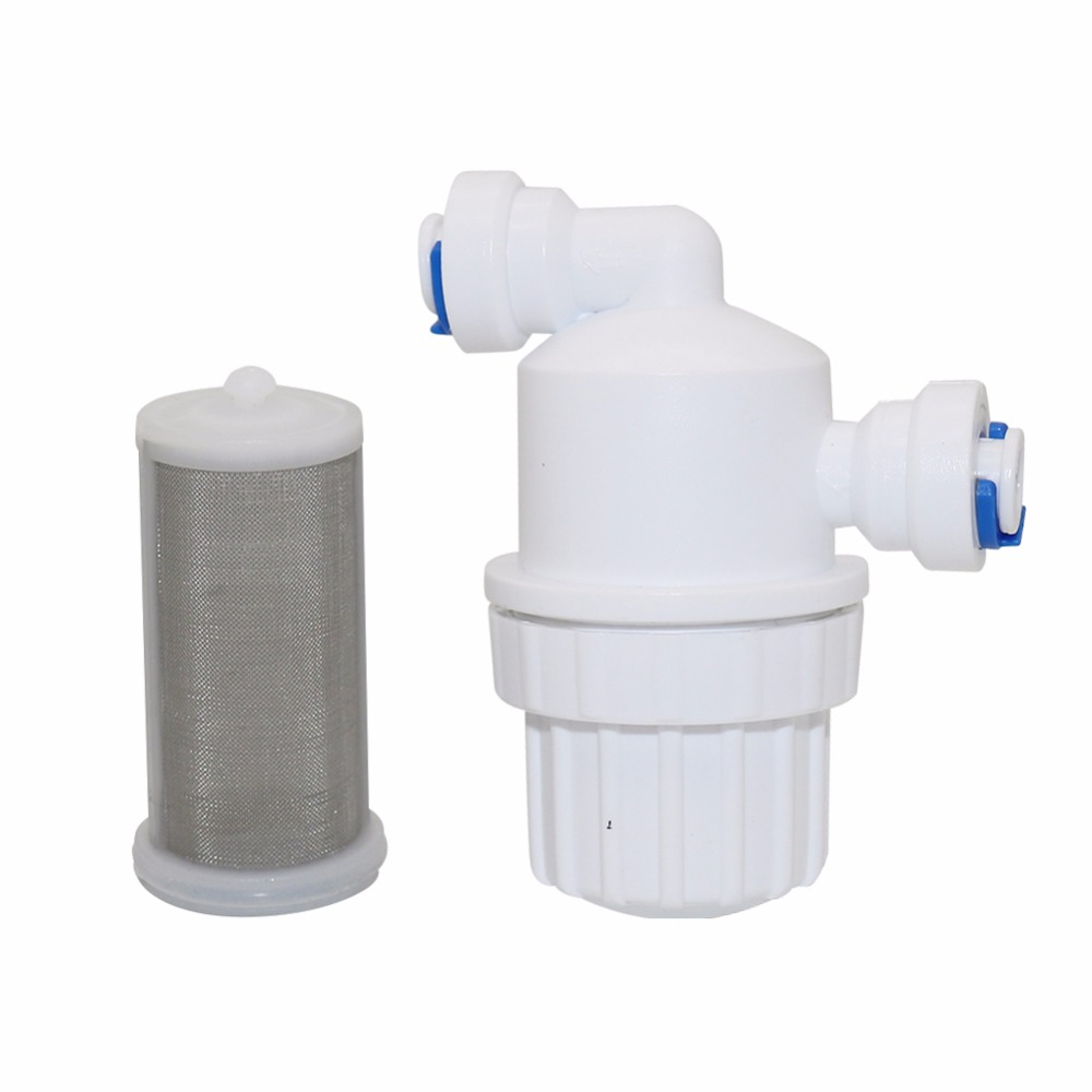 "1Pcs 1/4"" Garden Water Filter Quick Access Micro-filter Water Purifier Front Stainless Steel Mesh Filters Home Garden Connectors"