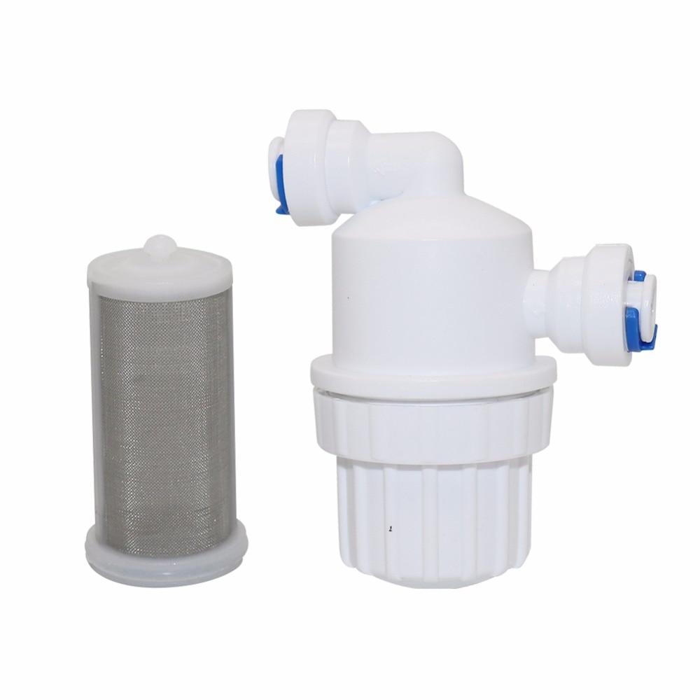 "1Pcs 1 4 Garden Water Filter Quick Access Micro filter Water Purifier Front Stainless Steel Mesh 1Pcs 1/4"" Garden Water Filter Quick Access Micro-filter Water Purifier Front Stainless Steel Mesh Filters Home Garden Connectors"