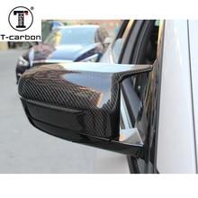 Замена зеркало заднего вида из углеродных волокон шапки в виде ракушки 5 6 7 серия G30 G38 530i 540i GT G32 G11 G12 LHD