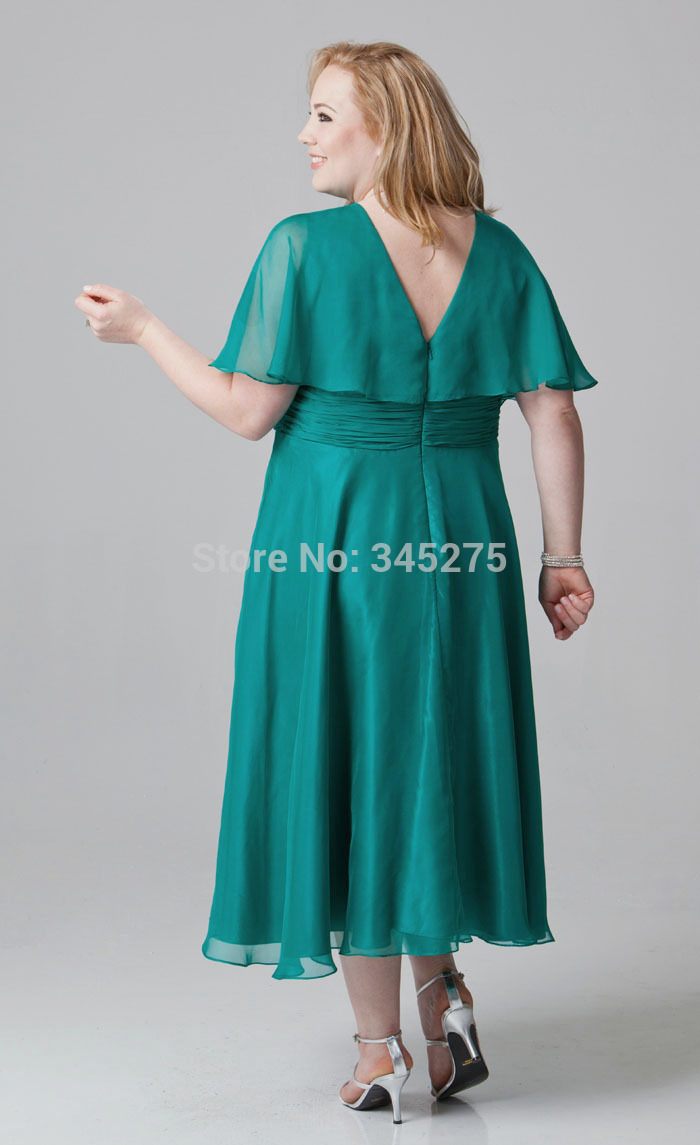 ankle length plus size mother party dress.jpg