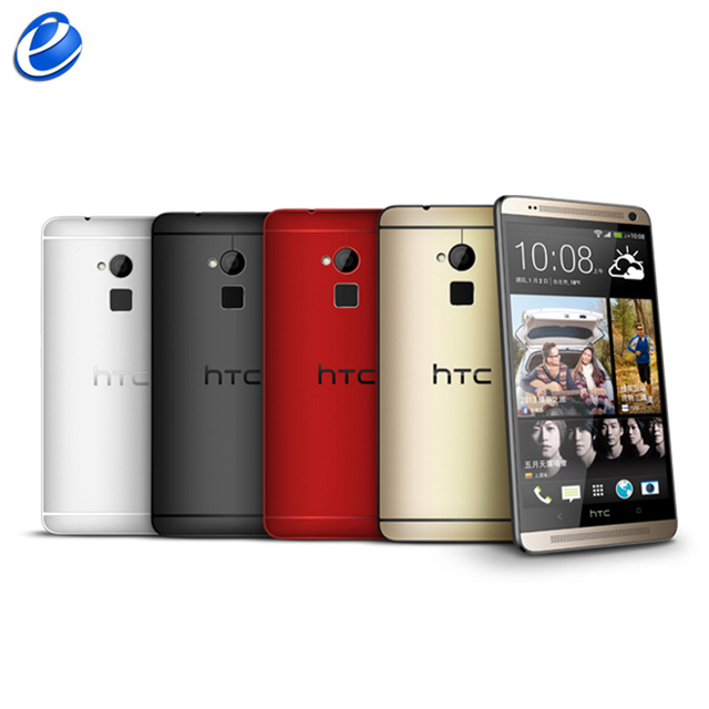 Unlocked HTC One Max Dual sim 16GB ROM 2GB RAM Quad-core 3G Mobile Phone 5.9inch 4MP WIFI GPS HTC ONE MAX Smartphone Android GPS 3