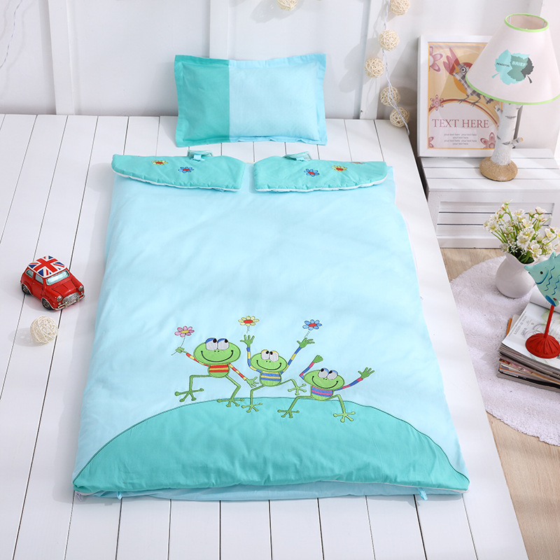 ФОТО The Infant Child Sleeping Bag Qiu Dong Cotton Anti Kick Cotton Baby Sleeping Bag JRR175
