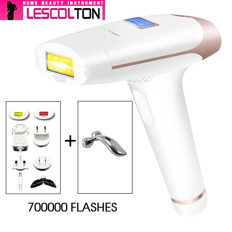 IPL Laser Epilator Håndholdt Laser Permanent Hårfjerning 300000 - Barbering og hårfjerning - Foto 4