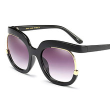 HOTOCHKI New Fashion Big Sunglasses Women Large Stylish Eyeglasses Female Eyewear Sun Glasses UV400