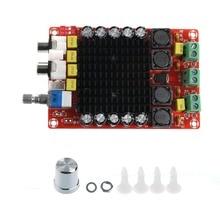 TDA7498 2×100 W Amplificateur de Puissance Numérique Conseil Audio Amplificateur Classe D Double Audio Stéréo DC 14-34 V Pour Home Cinéma Haut-Parleur Actif