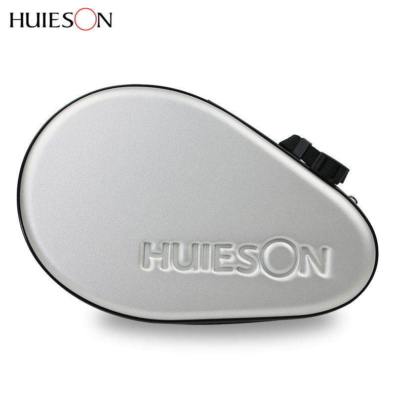 In Flavor Spirited Huieson Professional Gourd Table Tennis Hard Case Pu Waterproof Tennis Table Racket Bag Accessories Can Hold 2 Rackets Padel Fragrant