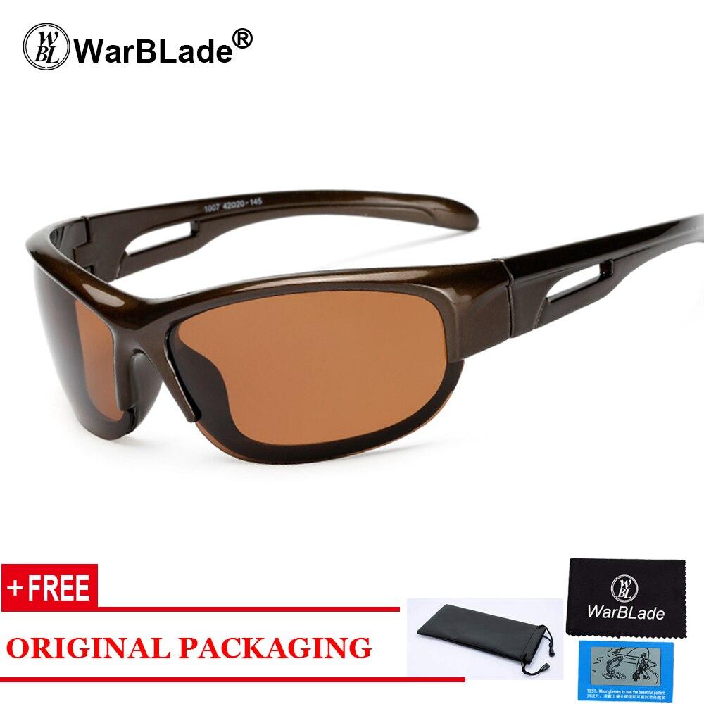 2018 New Brand Fashion Polarized Sunglasses Men Travel Sun Glasses For Driving Golfing Eyewear Gafas De Sol KP1007 WarBLade
