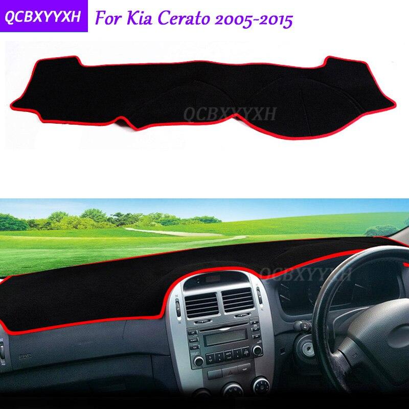 Для KIA Cerato 2005-2015 коврик для приборной панели защитный интерьер Photophobism коврик теневая Подушка Авто Стайлинг авто аксессуары