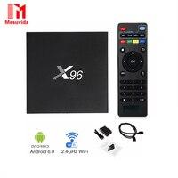 X96 2GB 16GB Amlogic S905X Quad Core Android 6 0 Marshmallow TV Box WIFI HDMI 2