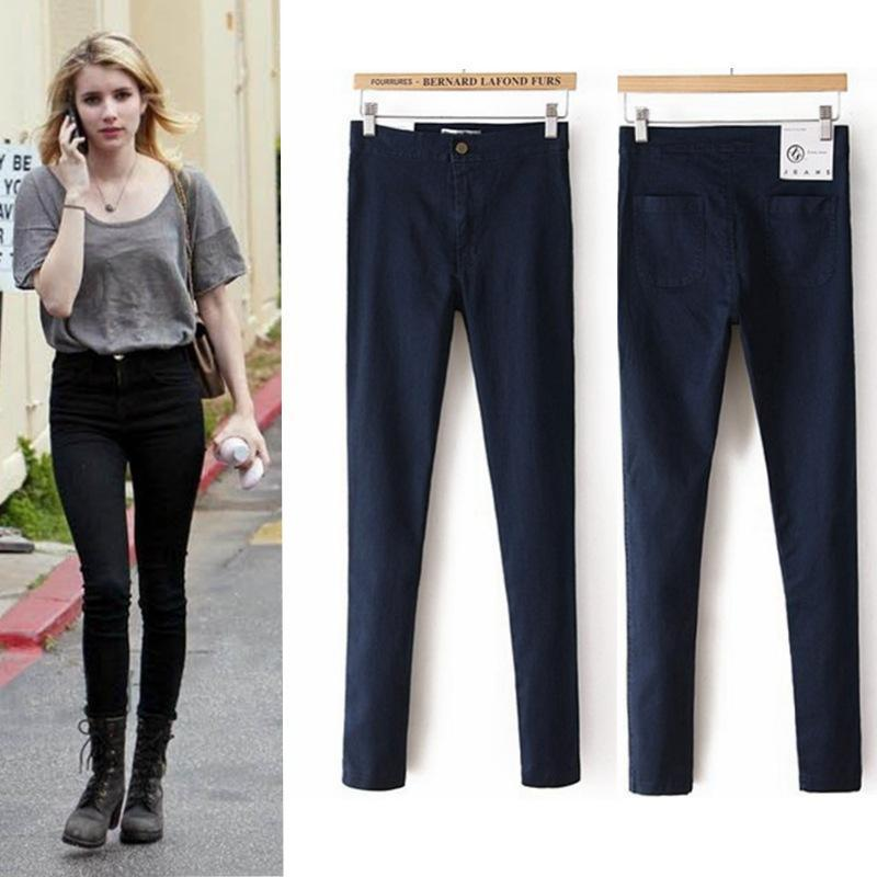 Popular Denim Leggings Petite-Buy Cheap Denim Leggings Petite lots ...