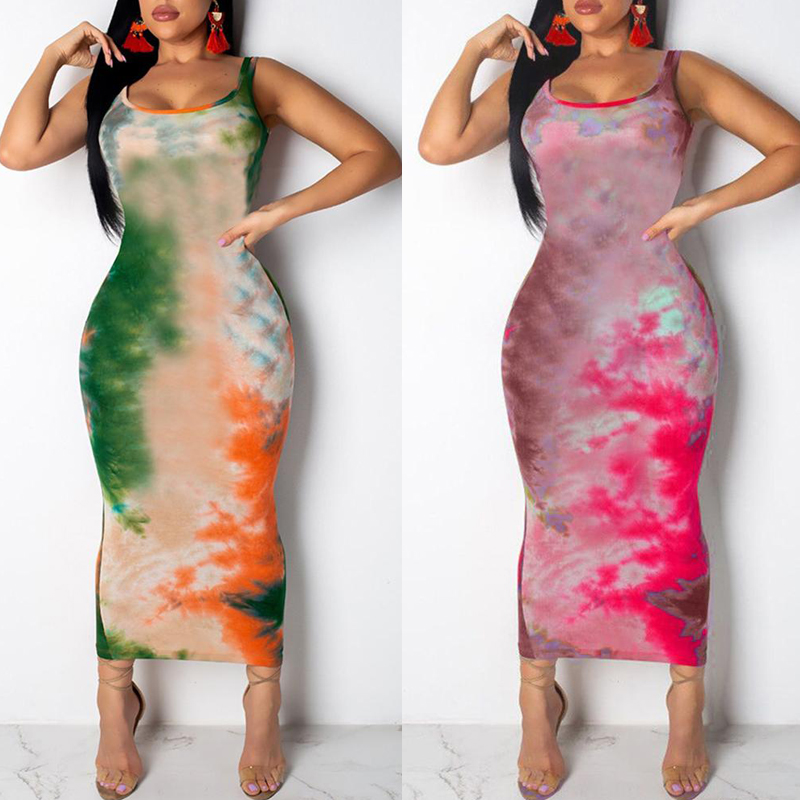 HTB1BGe8SAvoK1RjSZFwq6AiCFXan Women Graffiti Slim Fit Dress Ladies Girls Boho Long Maxi Dresses Evening Party Beach Bodycon Dresses Sundress