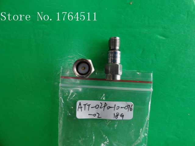 [BELLA] MIDWEST ATT-0290-10-076-02 DC-18.5GHz 10dB 2W Coaxial Fixed Attenuator  --2PCS/LOT