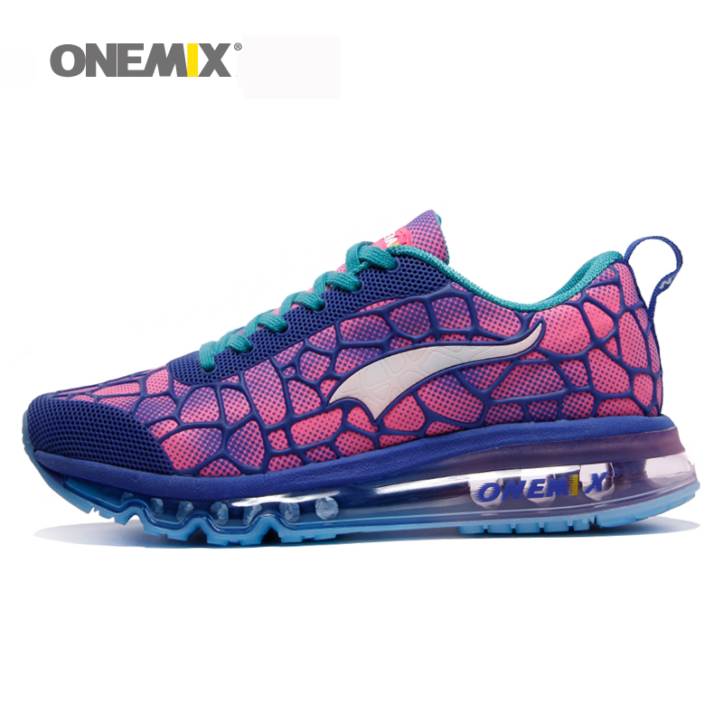 Onemix women running shoes outdoor sport sneaker for women walking shoes zapatos de mujer popular female shoes in purple виниловая плитка art east art house дуб лаград