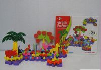 New Toy 126PCS Primeval Vergin Forest Gears Combination PuzzleToy Mushroom Nail 3D building blocks of virgin forest