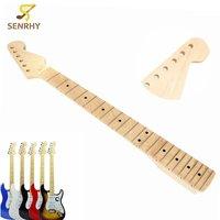 SENRHY New 22 Frets 66cm Electric Guitar Maple Neck For Electric Acousitc Guitar Replacement Guitar Parts