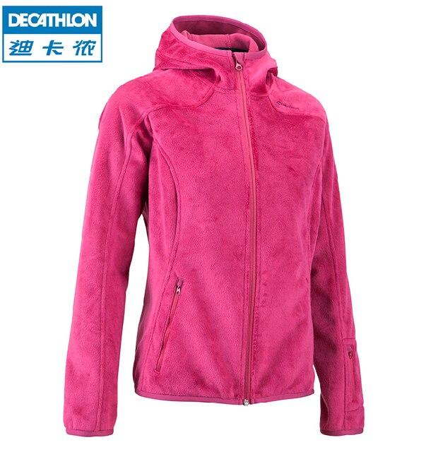 Outdoor jackets women Hiking polar fleece cardigan Authentic brand ...