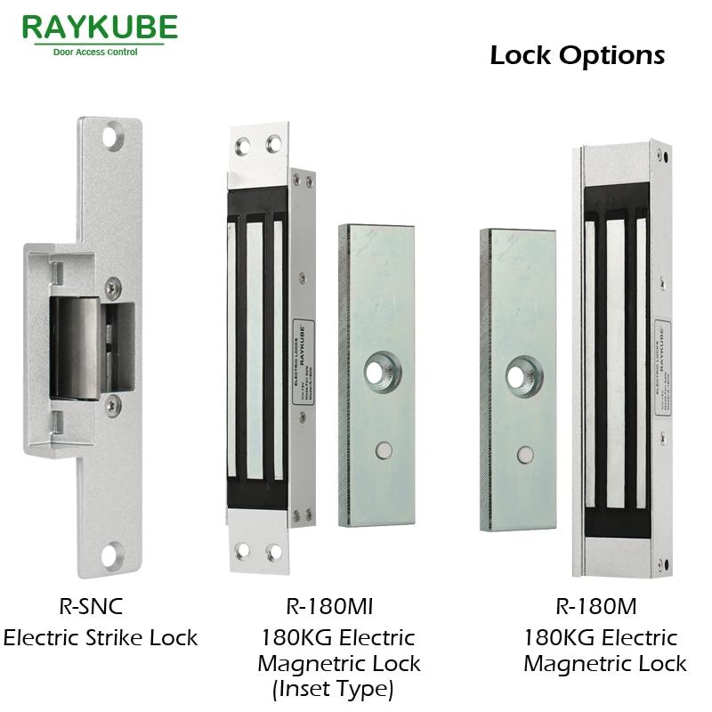 Kutia e kontrollit të hyrjes RAYKUBE Lock Strike Elektrike + - Siguria dhe mbrojtja - Foto 3