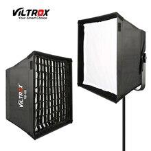 VILTROX VK 60 LED Light Softbox พับกลางแจ้งร่ม Reflector Diffuser + กระเป๋าสำหรับ VILTROX VL 40T VL 50T/B VL 60T VL 85T