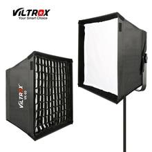 Viltrox VK 60 LED אור Softbox קיפול חיצוני רפלקטור מטרייה מפזר + נשיאת תיק עבור Viltrox VL 40T VL 50T/B VL 60T VL 85T