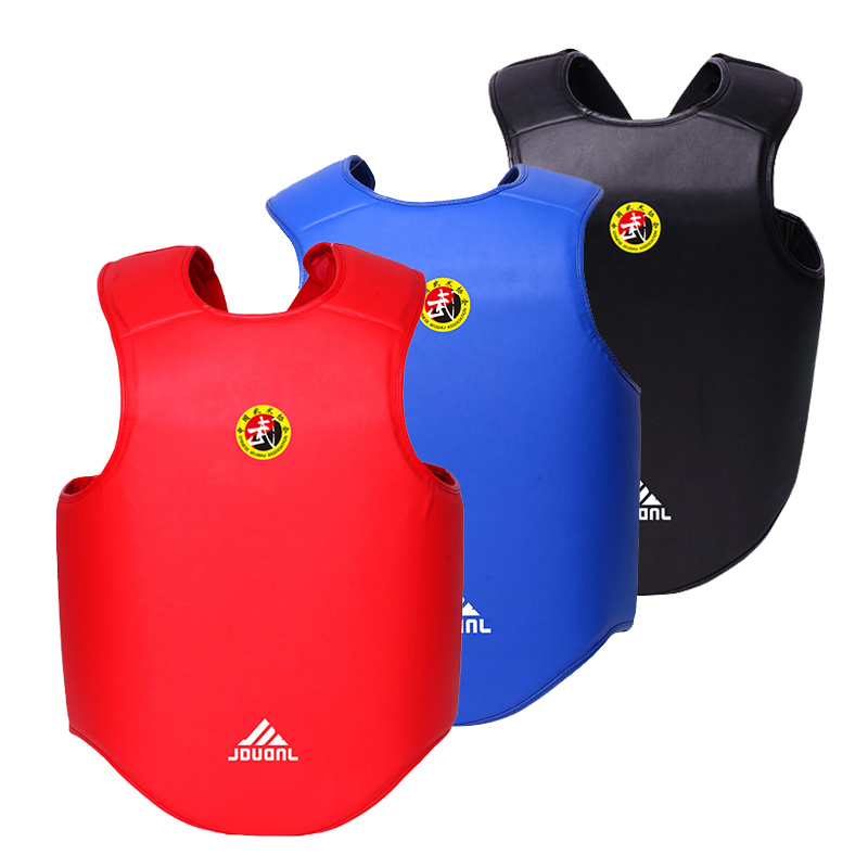 Chest Guard Taekwondo Reversible Body Shields Taekwondo Protect Protector Sanda Karate Kickboxing chestguard muay thai Boxing щипцы для наращивания волос loof 50 scale protector shields