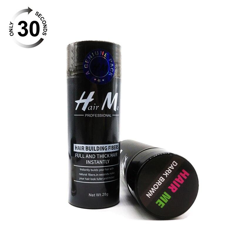 Salon Beauty Keratin 28g Hair Building Fibers Powder  Growth Cotton Natural Plant Makeup