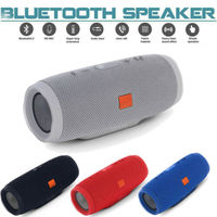 Portable Bluetooth Speaker Rechargeable Stereo Subwoofer Bluetooth Wireless Speaker Support Micro USB,3.5MM AUX,TF card,USB 3C10