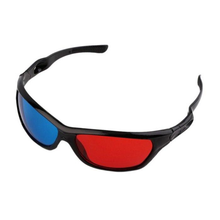 High Quality 3D Vision Glasses Red Blue Plasma TV Movie Dimensional Anaglyph Framed