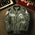 Uwback 2017 New Bomber Jacket Men High Quality Men Jacket Spring Fashion Long Sleeve Pilot Jacket Air Force Coat Men CAA475