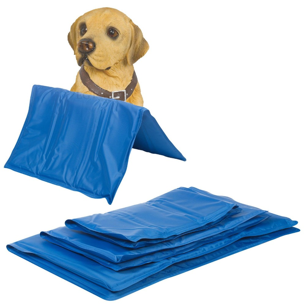 Pet Dog Cat Pad Bed Cooler Mat Cool Cushion Seat  5 sizes multifunctional warm dog bed with extra dog mat
