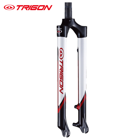 Cheap Trigon MC08A MTB  full carbon fiber ultra-light mountain bike bicycle fork carbon fork trigon fork for disc brake 27.5er 29er
