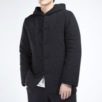 Abrigo Hombre Special Offer Long Casual Windbreaker 2017 New Winter Men Men's Cotton Padded Jacket Retro Folk Style Clothes