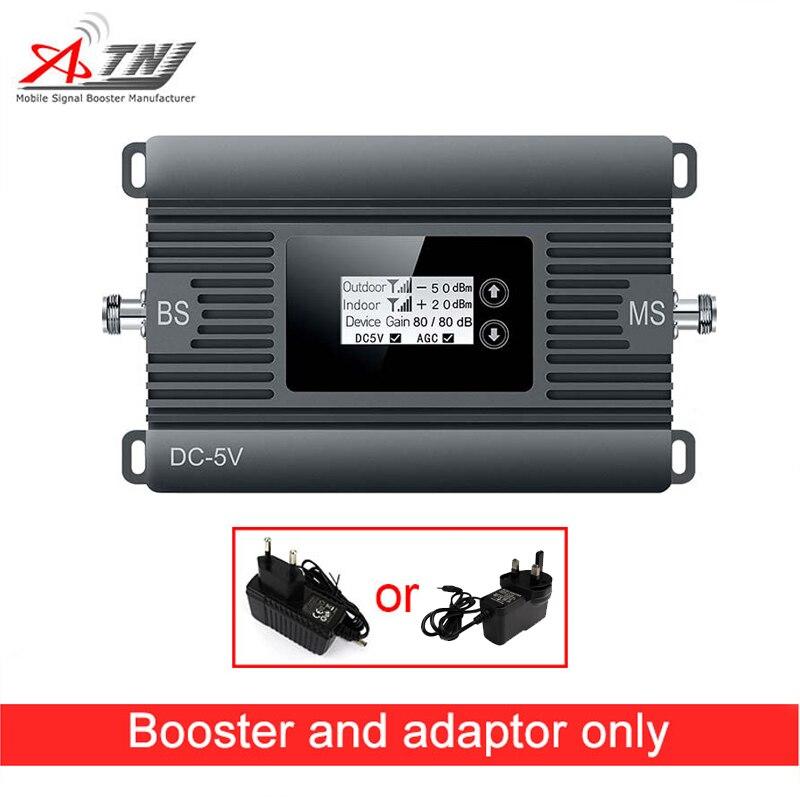 Высокая мощность мини 2100 мГц 3G Мобильный усилитель сигнала 80dBi повторитель сигнала 3G WCDMA сотовая связь усилитель сигнала только устройство +