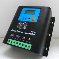 Solar Controller 50A60A Off Grid Photovoltaic Power Generation Controller 48V50A60A Photovoltaic Power Station