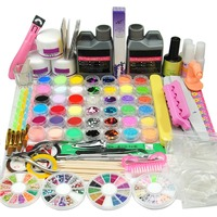 Acrylic Powder Acrylic 120ML Set For Manicure Nail Extension Set Manicure Set Tools For Manicure Nail Glitter Tools For Manicure