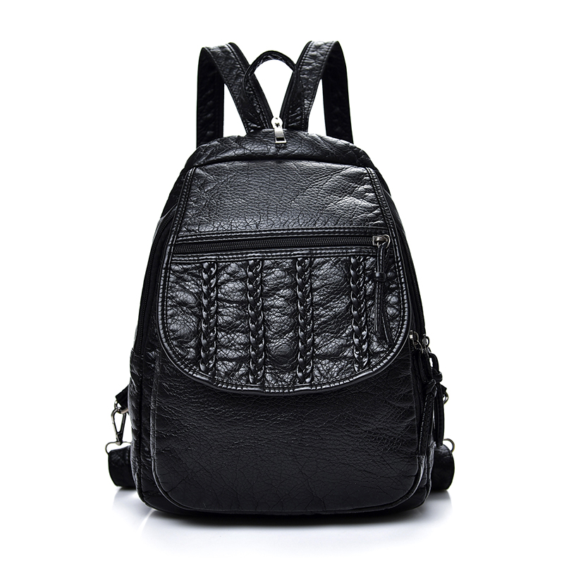 Fashion Women Striped Backpacks For Teenage Girls Sac A Main Designer High Quality Plaid Backpack School Bags Mochilas Escolar