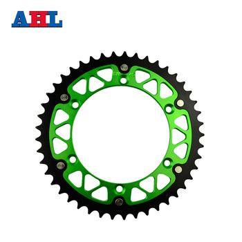 Motorcycle Parts Steel Aluminium Composite 45~52 T Rear Sprocket For KAWASAKI KLX450R 2007-2014 KX250F-E Enduro Fit 520 Chain