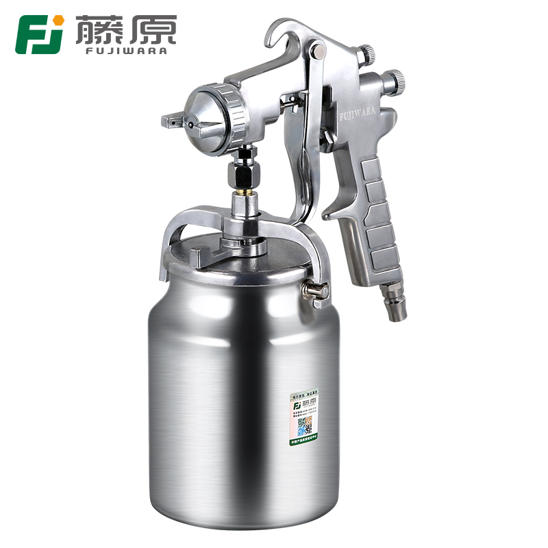 FUJIWARA PQ-2 Pneumatic Spray Paint Gun Varnish Spray Gun Highly Atomized Furniture Wooden Furniture Automobile Spray Gun цена
