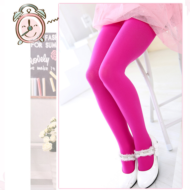2017 Girl Pants New Arrive Kids Baby Girls Skinny Leggings Trousers Elastic Waist Candy Color Underpants Pantyhose XL08