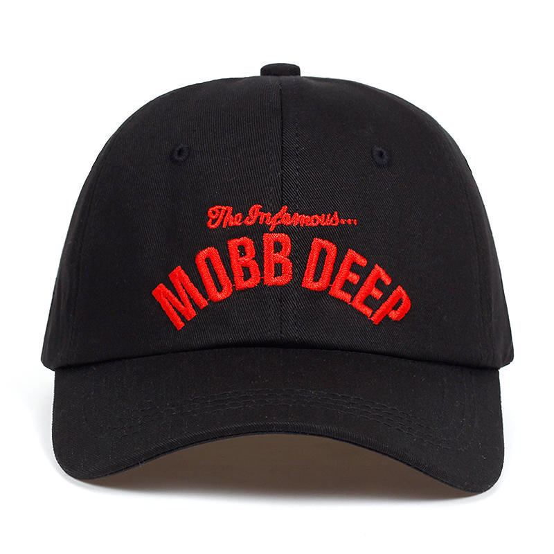 2019new MOBB DEEP letter embroidery   cap   korean version of the personality   baseball     caps   outdoor sunshade hat adjustable dad hats