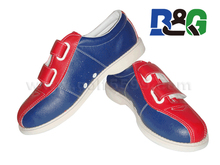 2016 hot sale high quality Rental Bowling Shoes velcro shoes
