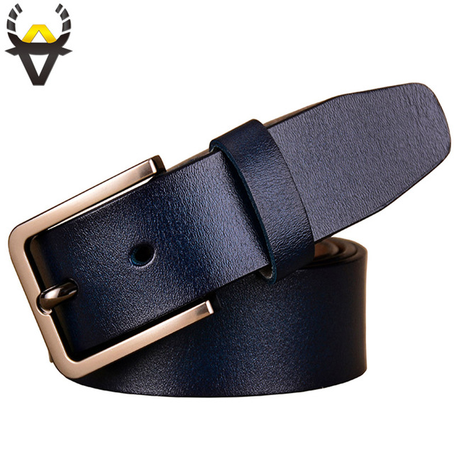 Fashion Genuine leather belts for women Luxury Designer belt woman Pin buckle strap for jeans High quality second layer cowskin