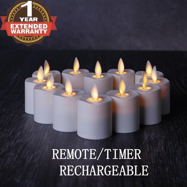 Flameless Votive Candles Beauteous Aliexpress Buy NONNOZGF Rechargeable Flameless Votives Moving