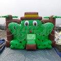 FRETE grátis por mar Maravilhoso Trampolim Inflável Casa Do Salto Inflável Com Donald E Para O Miúdo