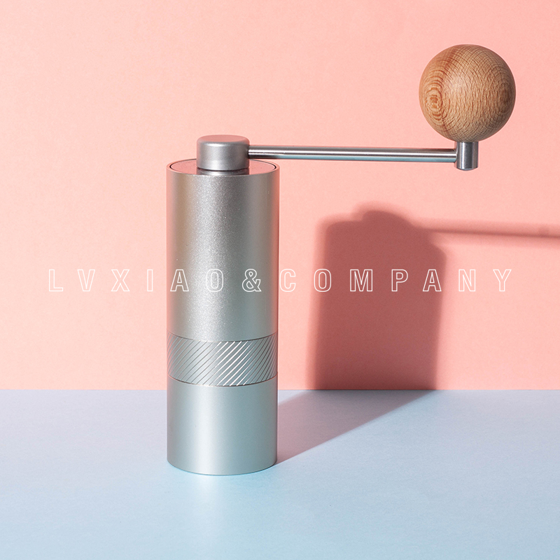 watchget Stainless Steel Coffee Grinder Tool Hand Manual Coffee Grinder Mini Grinders Kitchen Tool Hand Mill