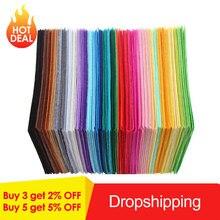 Для выведения токсинов, 40 шт Многоцветный DIY ремесло Нетканая фетровая Полиэстеровая ткань Войлок ремесла Войлок к ткани одежде с помощью швейные принадлежности