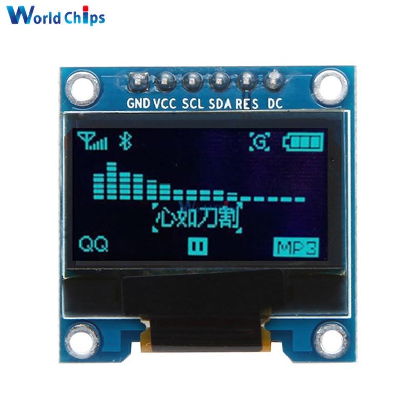 0.96 Inch SPI OLED Display Module 12864 6pins SPI Interface 0.96