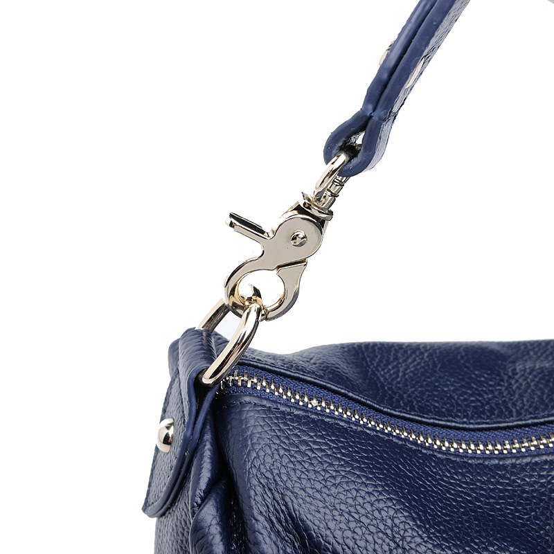 Première gray Blue Designer Véritable Dames Marque navy Célèbre Cuir Bandoulière Peau Sacs Qualité Vache Haute Black À En Femmes Couche Épaule De Mode Main qF0gfw1