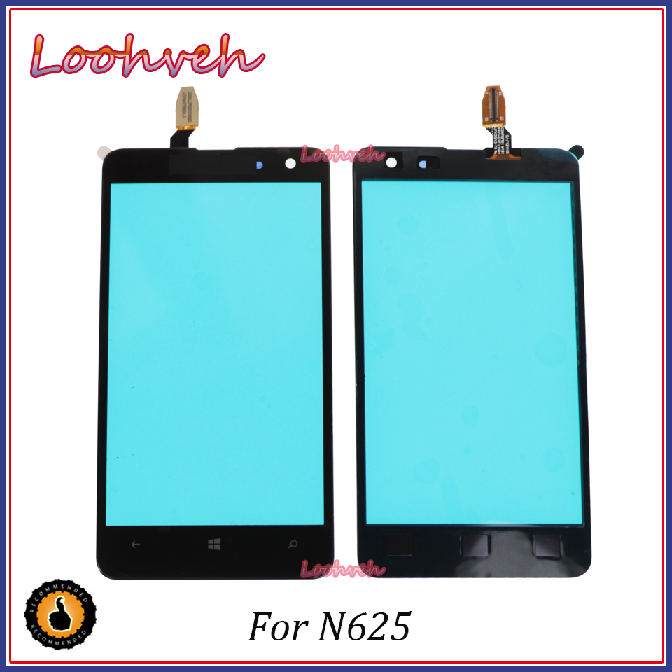 High Quality 4.7'' For <font><b>Nokia</b></font> <font><b>Lumia</b></font> <font><b>625</b></font> N625 <font><b>Touch</b></font> <font><b>Screen</b></font> Panel <font><b>Sensor</b></font> Digitizer Outer Glass Lens image