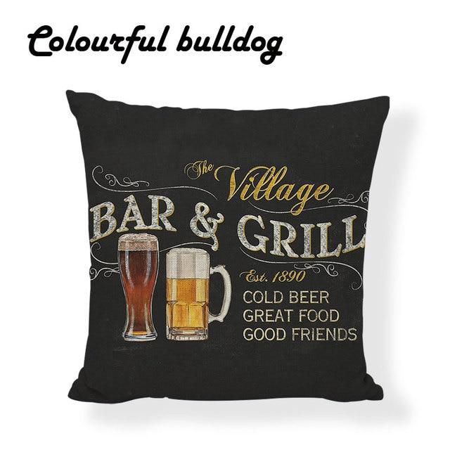 Vintage Bar Cushions 6