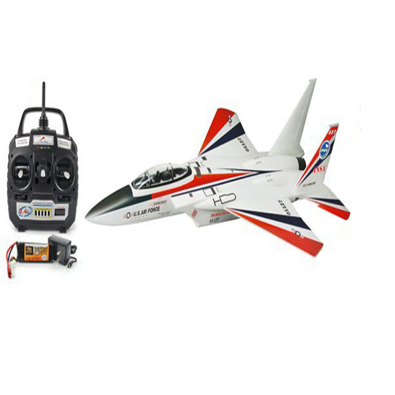 Free shipping Sport hobbies 2 4Ghz F 15 Eagle Fighter Jet F15 shutter RC Airplane RTF